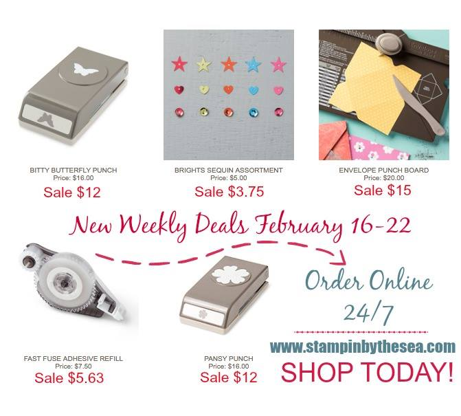 Weekly Deals Stampin' Up!,