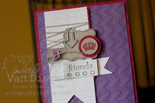 Kimberly Van Diepen stampin up