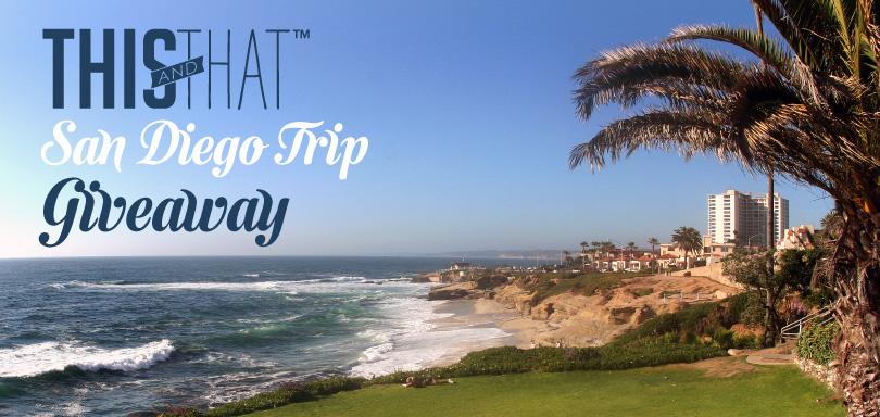 Trip Giveaway, San Diego, Kimberly Van Diepen
