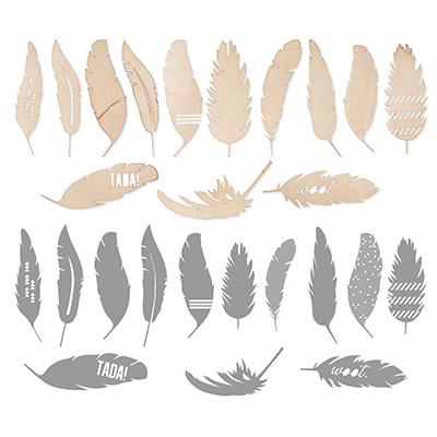 Feathered Woodcuts Kit
