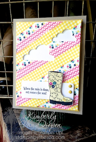 Bootiful Occasions, Stampin' Up!