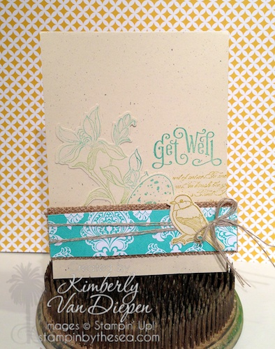 Backyard Basics, Perfectly Penned, Stampin' Up!