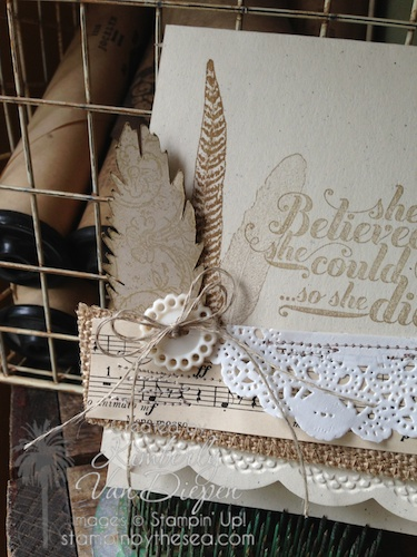 Fine Feathers, Feels Good, Stampin' Up!