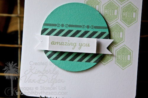 Show & Tell 1, Stampin' Up!