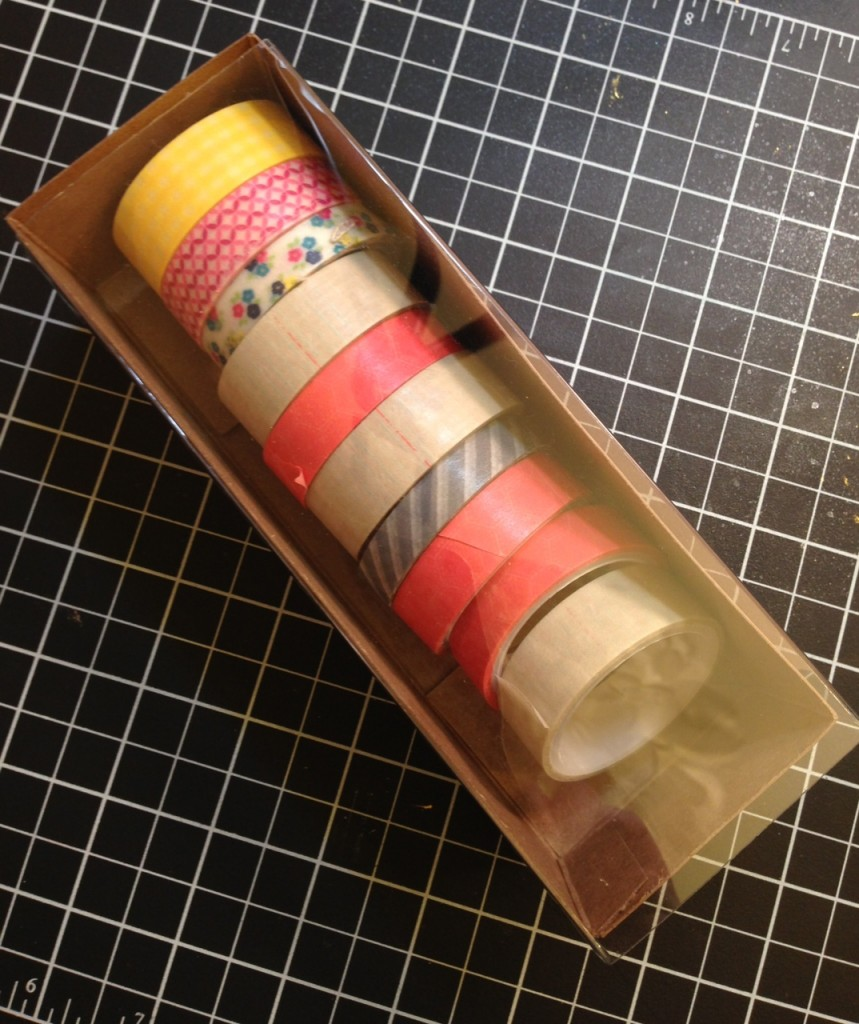Washi Tape Storage, Stampin' Up!