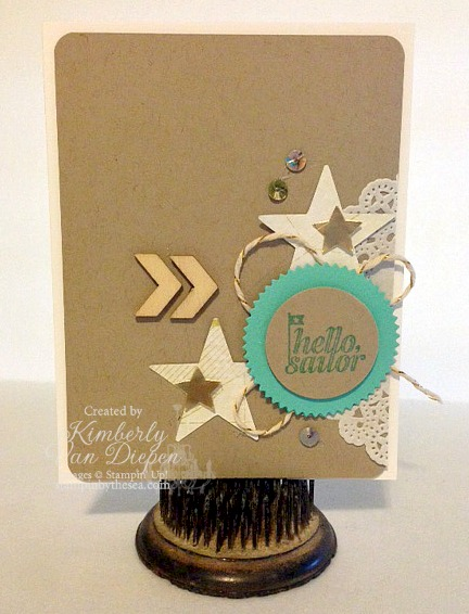 Hello Sailor, Stampin Up!