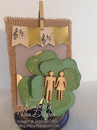 St. Patty's Day Banner, St. Patricks Day, Stampin' Up!, Paper Pumpkin