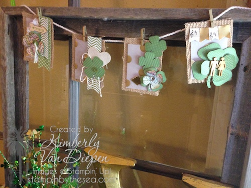 St. Patty's Day Banner, St. Patricks Day, Stampin' Up!