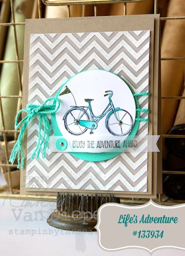 Life's Adventure, Stampin' Up!, Cruise Samples