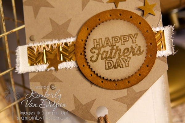Great tips creating masculine cards, Stampin' up!