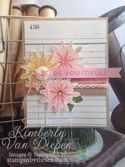 Flower Patch Stamp set, Stampin' Up!