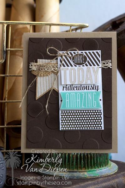 Amazing Birthday stamp set, Stampin' Up!