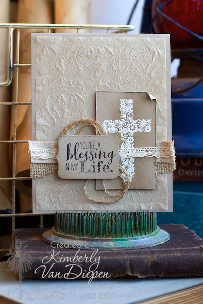 Blesssed by God, Stampin' Up!