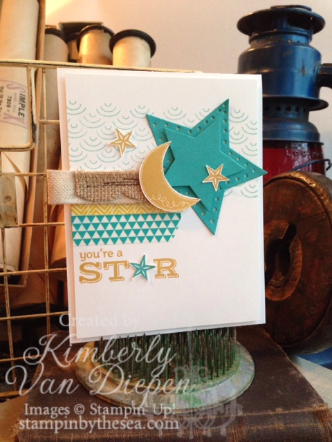 Be a Star, Stampin' Up!
