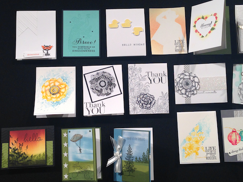 Convention Displays, Stampin' Up!