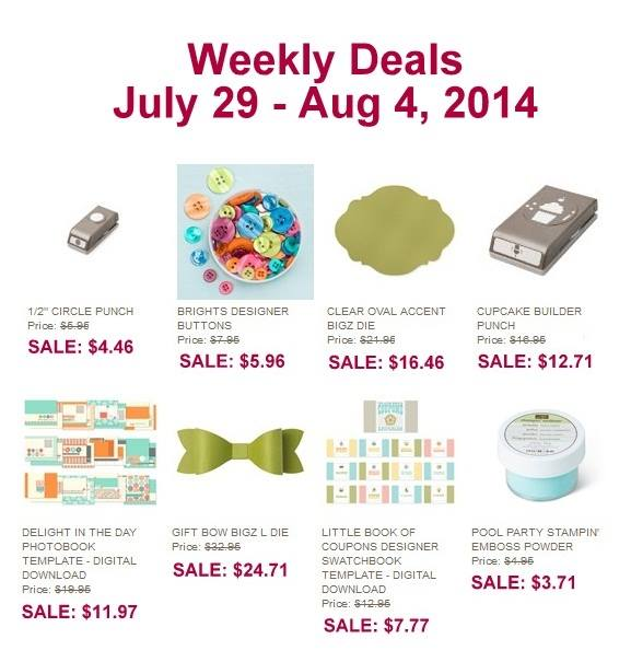 Weekly Deals, Stampin' Up!