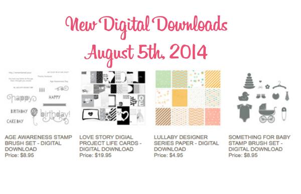 My Digital Studio, New DIGITAL downloads, Stampin' Up!