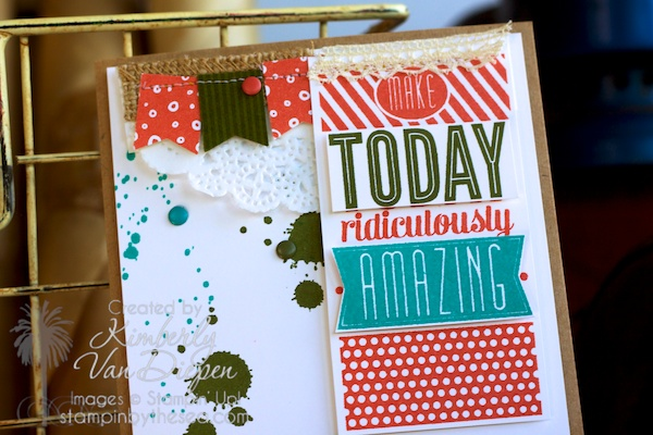 Amazing Birthday stamp set, Color Inspiration, Stampin' Up!