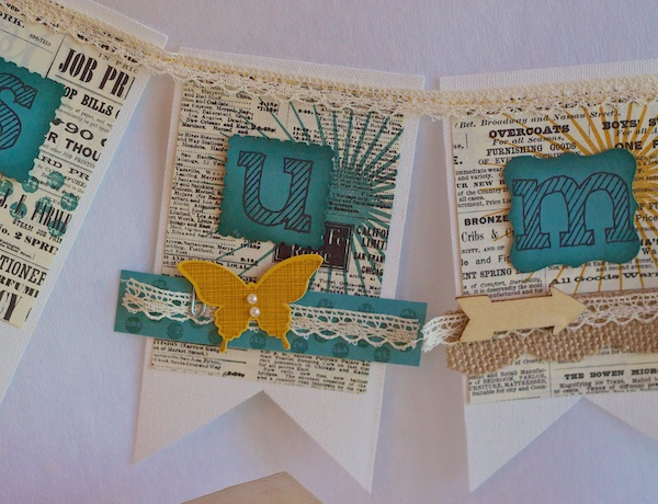 Kinda Eclectic, Banner, Stampin' Up!