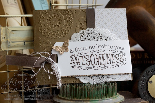 Tag Topper Punch, Stampin' Up!