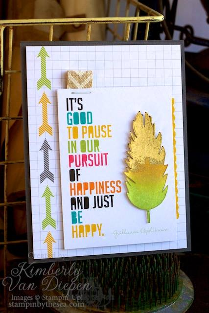 Project Life, Pursuit of Happiness, Stampin' Up!