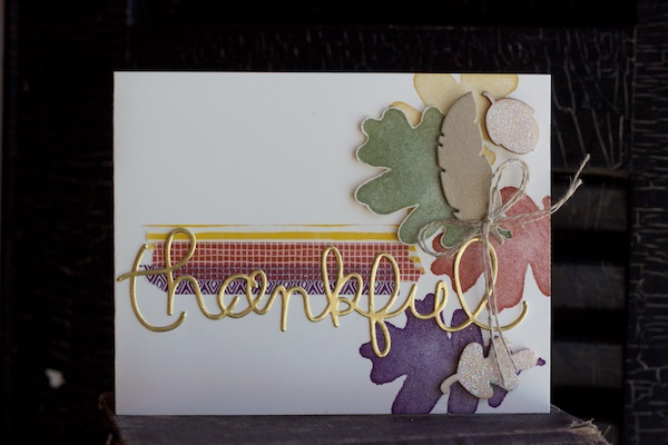 For All Things, Stampin' Up!, Fall