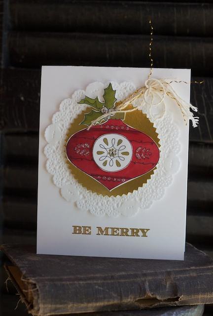 Christmas Bauble, Christmas, Stampin' Up!
