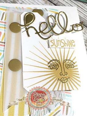 Ray of Sunshine stamp set, Stampin' Up!