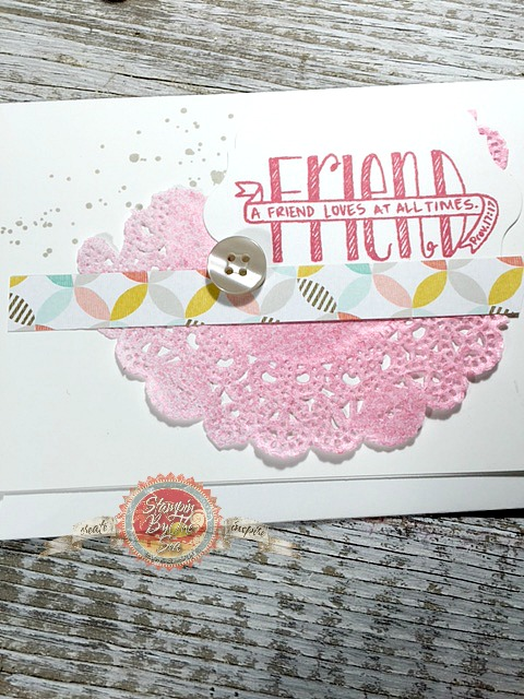 Banner Blessings stamp set, Stampin' Up!
