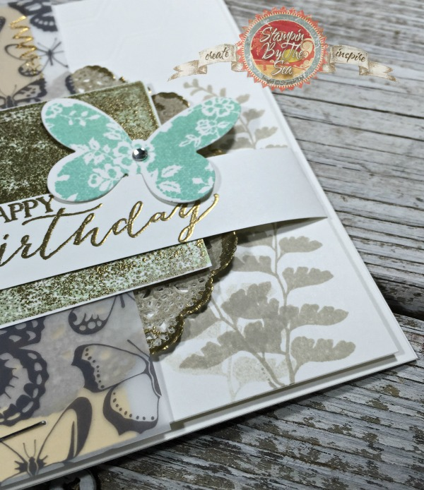 Butterfly Basics, Patina Technique, Stampin' Up!