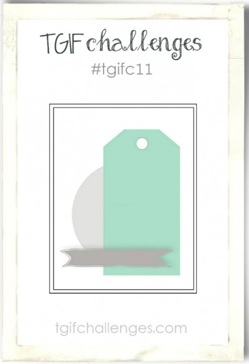 TGIFC11, Stampin' Up! Challenge, Sketch