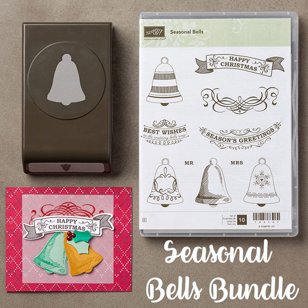 Seasonal Bells, Stamps in the Mail, Stampin' Up!