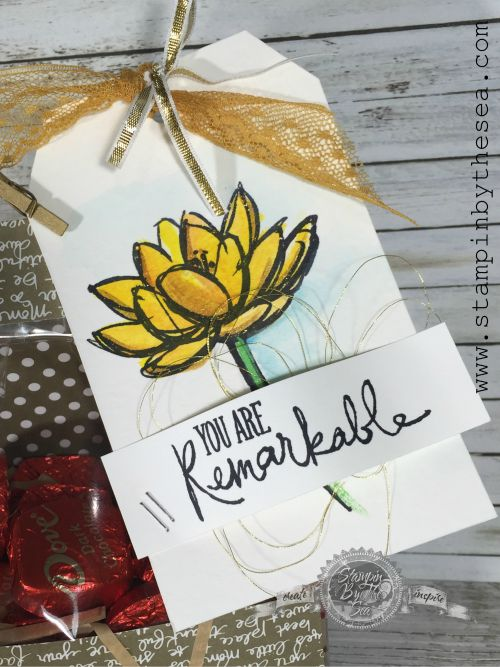 Remarkable You stamp set, Gift Tag, Stampin' Up!