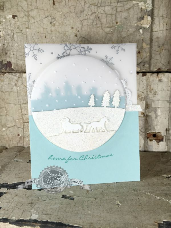Jingle All The Way, Sleigh Ride Edgelits Die, Stampin' Up!