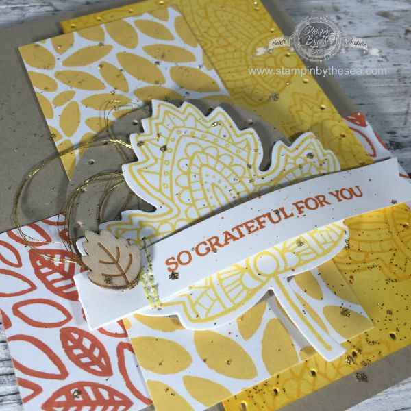 Lighthearted Leaves, Stampin' Up!, Fall