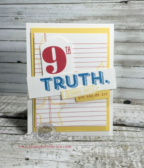 Writing Notes, Words of Truth stamp set
