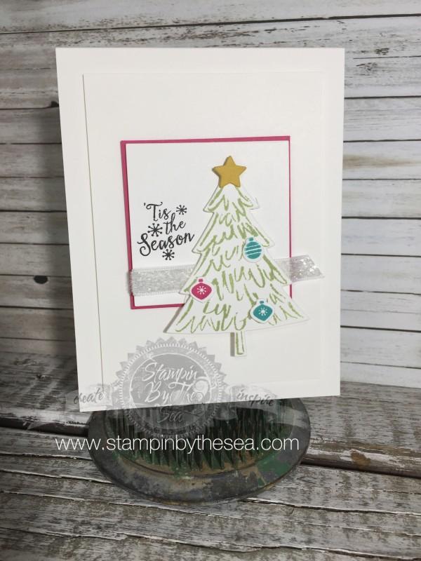 Peaceful Pines Stamp Set, Stampin' Up!, Christmas