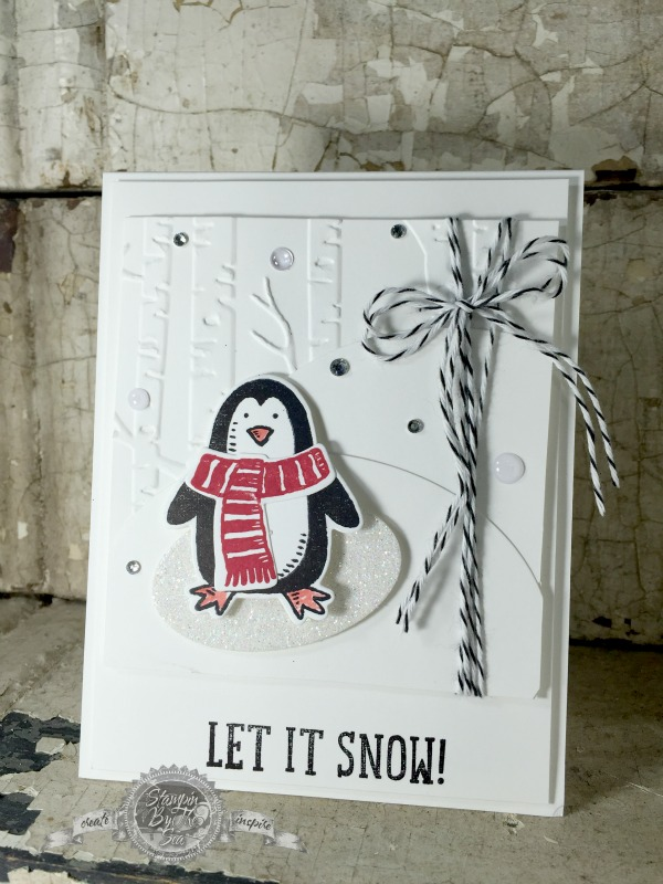 Stamps in the Mail, Snow Place Stamp set, Stampin' Up!