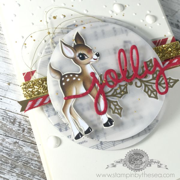 Embellished Ornaments, Home for Christmas DSP, Christmas, Stampin' up!