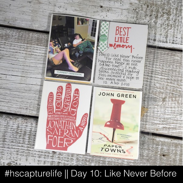 Project Life, PLxSU, Stampin' Up!, Capture Life