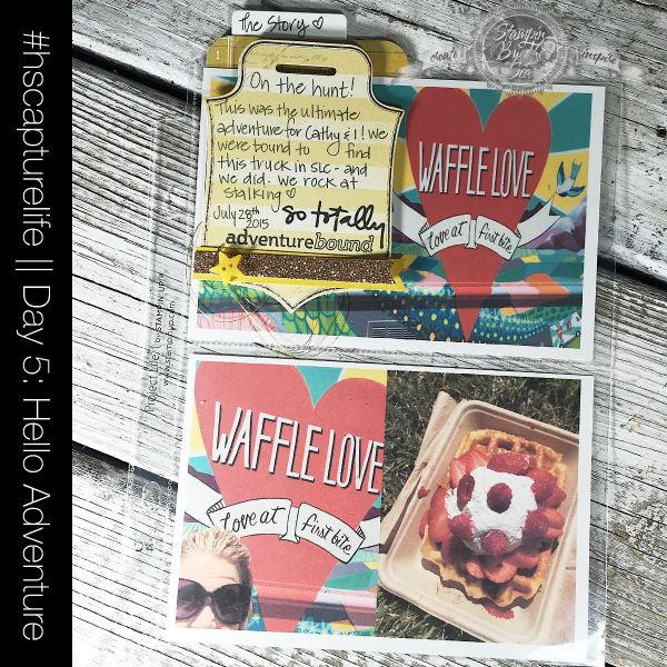 Project Life, Heidi Swapp Capture Life, Stampin' Up!