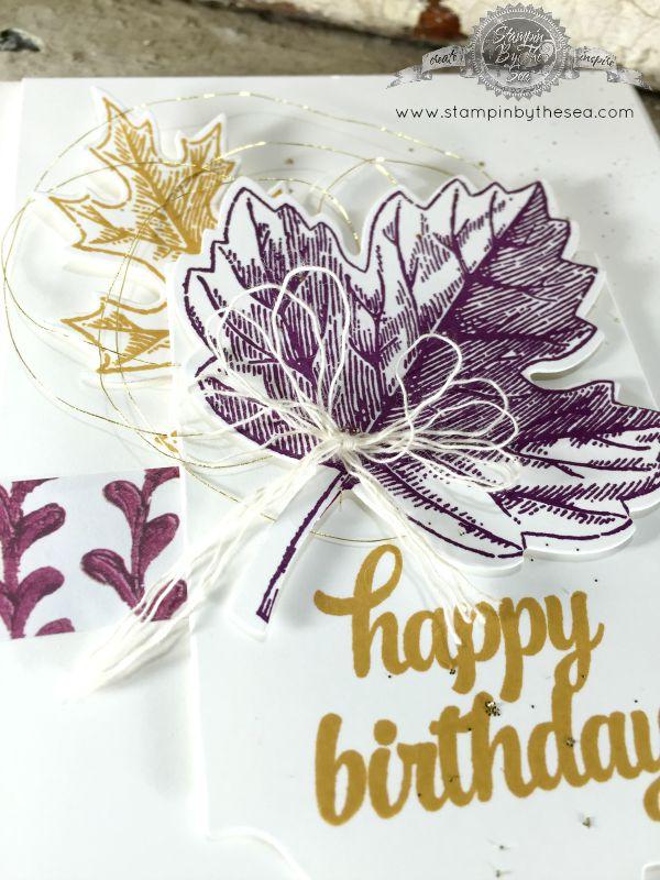 Happy Birthday, Vintage Leaves, Stampin' Up!, TGIF