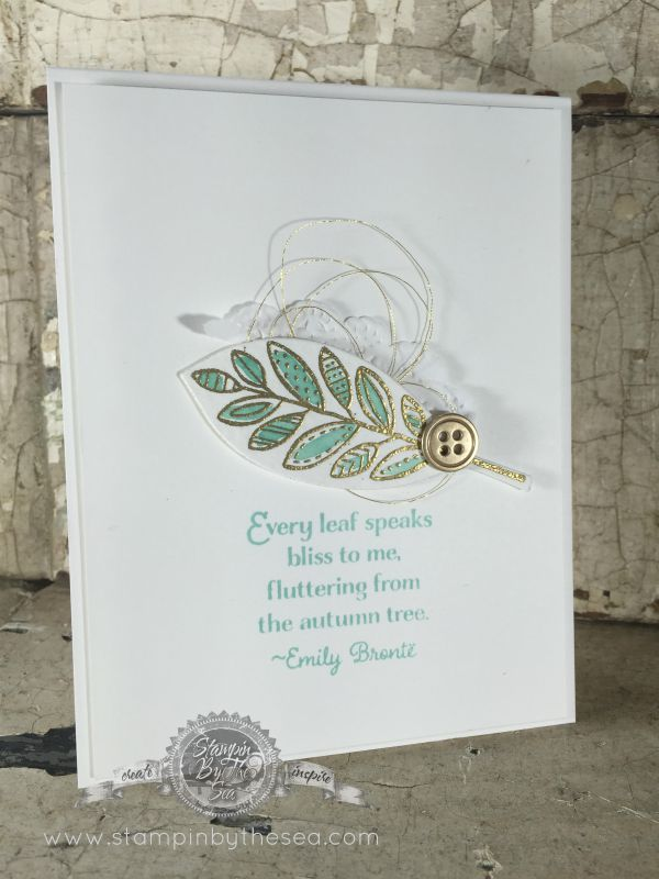 Lighthearted Leaves, Stampin' Up!