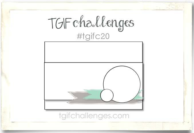 TGIF20, Challenge, Stampin' Up!, Snow Place