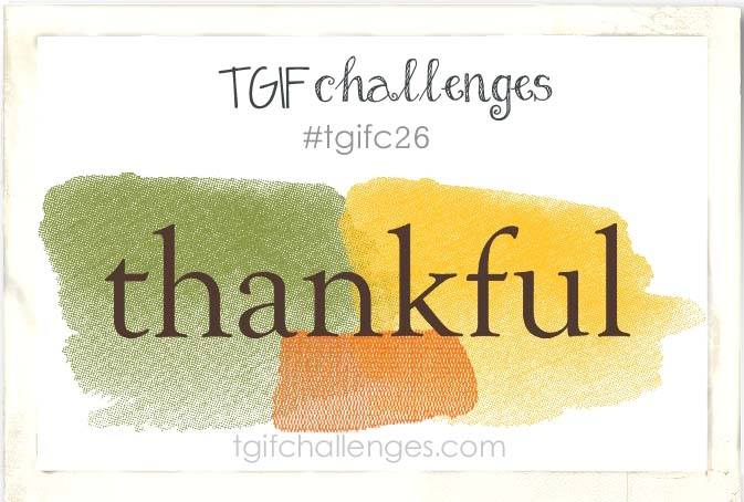 TGIF Challenge, Stampin' Up!