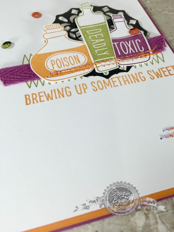 Sweet Hauntings stamp set, Stampin' Up!