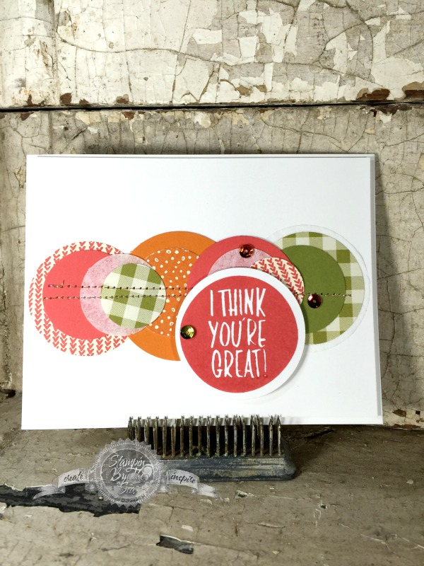 I think You're Great stamp set, Stampin' Up!