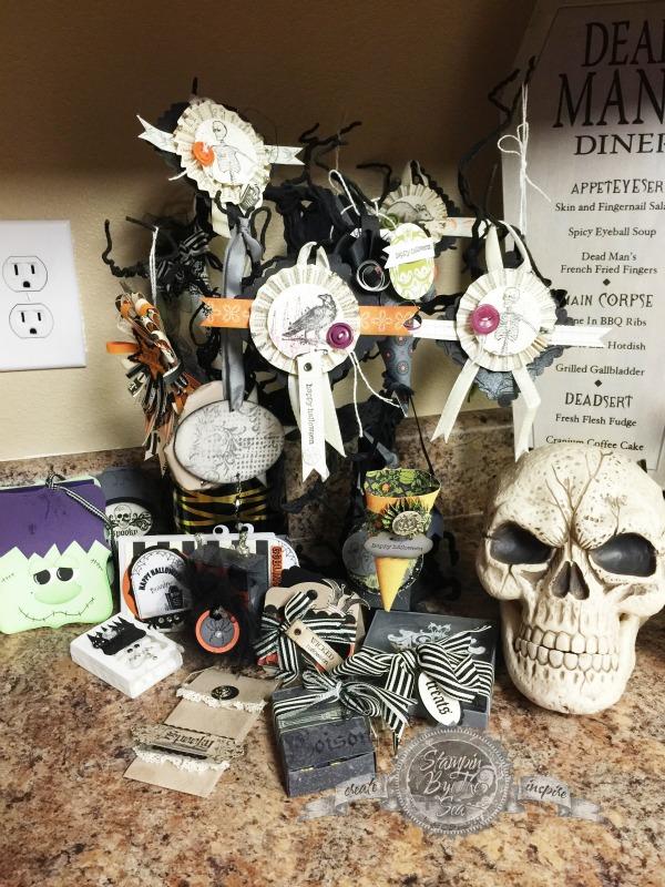Halloween Decorations, Halloween, Stampin' Up!
