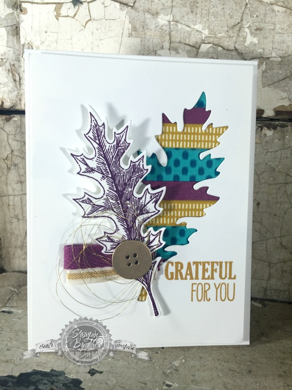 Grateful, Vintage Leaves Stamp Set, Stampin' up!