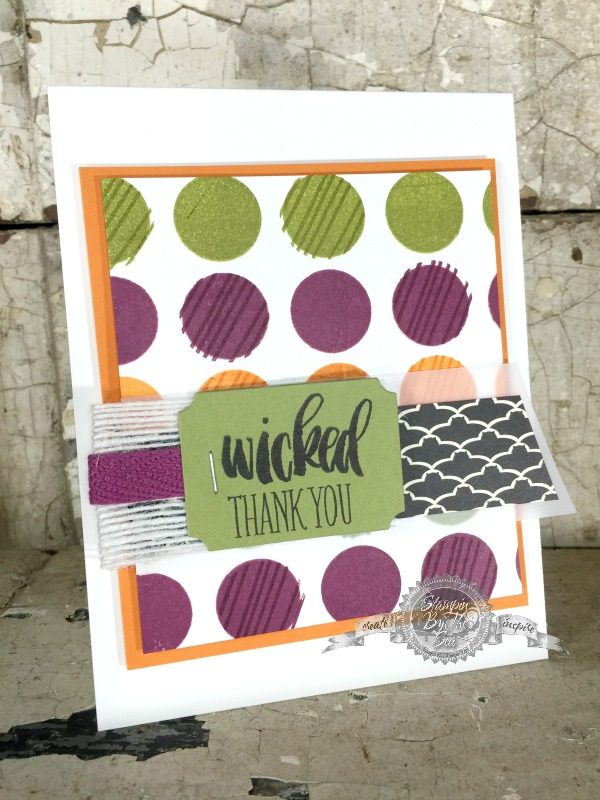 Wicked Thank You, Stampin' Up! Demonstrator, TGIFC